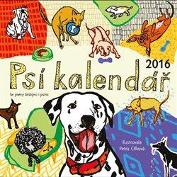 Obálka titulu Psí kalendář 2016