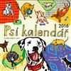 Obálka knihy Psí kalendář 2016