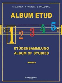 Obálka titulu Album etud 1
