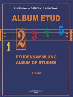 Obálka titulu Album etud 2