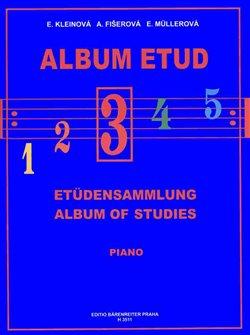 Obálka titulu Album etud 3