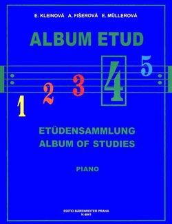 Obálka titulu Album etud 4
