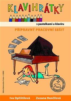 Obálka titulu Klavihrátky - s pastelkami u klavíru