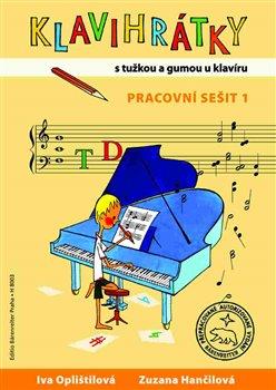 Obálka titulu Klavihrátky - s tužkou a gumou u klavíru
