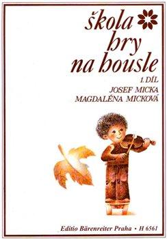 Obálka titulu Škola hry na housle 1