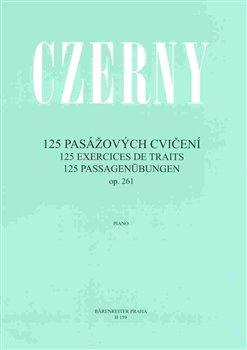 Obálka titulu 125 pasážových cvičení op. 261