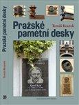 Obálka knihy Pražské pamětní desky