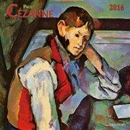Nástěnný kalendář - Paul Cezanne 2016