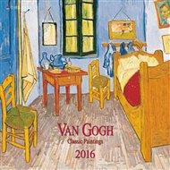 Nástěnný kalendář - Van Gogh - Classic Paintings 2016