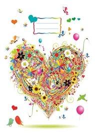 Sešit - Srdce