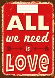 Sešit - All we need is Love