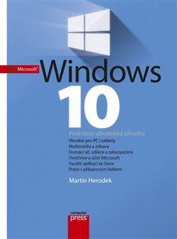 Obálka titulu Microsoft Windows 10