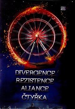 Obálka titulu Divergentní trilogie + Čtyřka