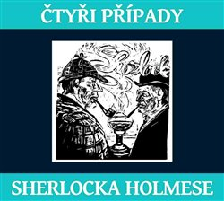Obálka titulu Čtyři případy Sherlocka Holmese