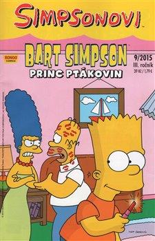 Obálka titulu Bart Simpson 9/2015: Princ ptákovin
