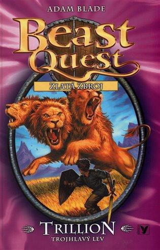 Trillion, trojhlavý lev:Beast Quest (12) - Adam Blade | Booksquad.ink