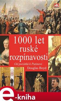 Obálka titulu 1000 let ruské rozpínavosti