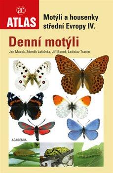 Obálka titulu Motýli a housenky střední Evropy IV.