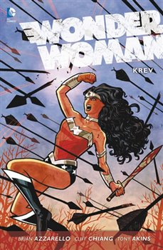 Obálka titulu Wonder Woman 1: Krev