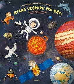 Obálka titulu Atlas vesmíru pro děti