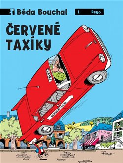 Obálka titulu Béda Bouchal - Červené taxíky