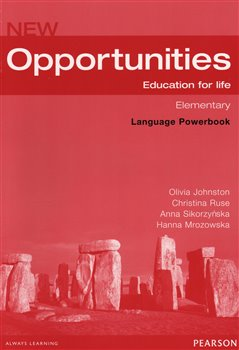 Obálka titulu New Opportunities Elementary Language Powerbook + CD-ROM