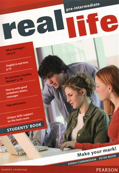Obálka titulu Real Life Global Pre-intermediate Students Book