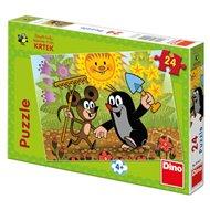 Puzzle Krtek a Myška 24 dílků