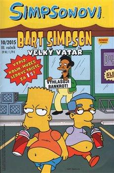 Obálka titulu Bart Simpson 10/2015: Velký vatař