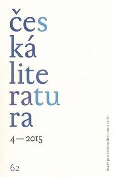 Obálka titulu Česká literatura 4/2015