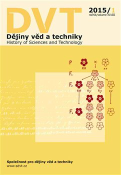Obálka titulu Dějiny věd a techniky 1/2015