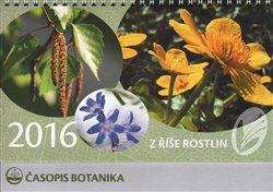 Obálka titulu Kalendář Z říše rostlin 2016 - stolní