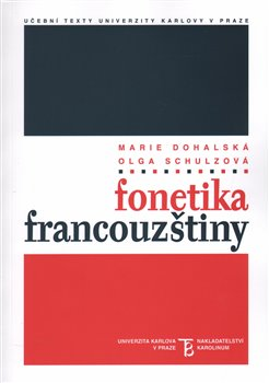 Obálka titulu Fonetika francouzštiny