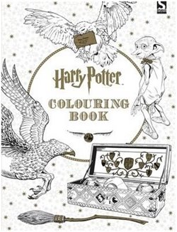 Obálka titulu Harry Potter Colouring Book