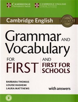 Obálka titulu Grammar and Vocabulary for First and First for Schools Book w. Answ. w. Audio