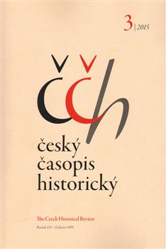 Obálka titulu Český časopis historický 3/2015