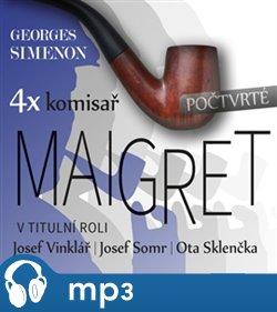 Obálka titulu 4x komisař Maigret - počtvrté