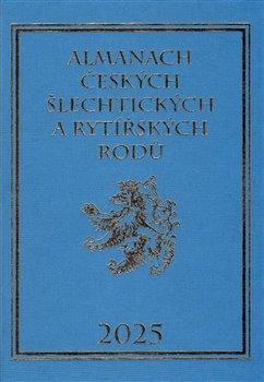 Obálka titulu Almanach českých šlechtických a rytířských rodů 2025