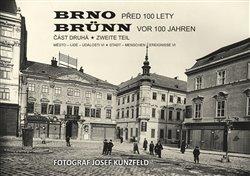 Obálka titulu Brno před 100 lety 2.díl