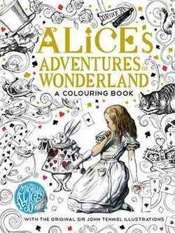 Obálka titulu Alice´s Adventures in Wonderland a colouring book