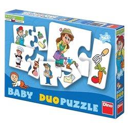 Obálka titulu Baby Puzzle Profese 18 dílků