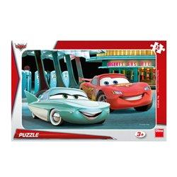 Obálka titulu Puzzle Cars u pumpy 15 dílků