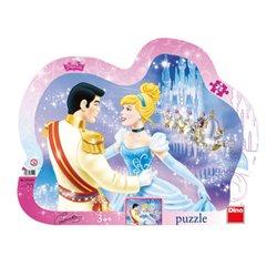 Obálka titulu Puzzle Zamilovaná Popelka 25 dílků
