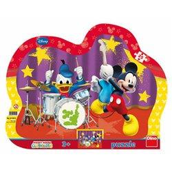 Obálka titulu Puzzle Mickeyho kapela 25 dílků