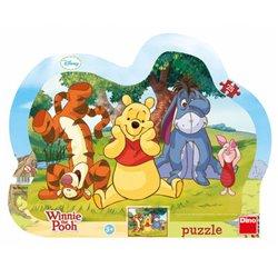 Obálka titulu Puzzle Schovávaná s medvídkem Pú 25 dílků