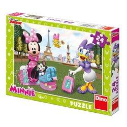 Obálka titulu Puzzle Minnie v Paříži 24 dílků