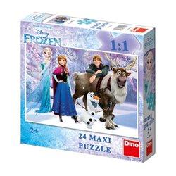 Obálka titulu Puzzle Frozen: Elsa a přátelé 24 dílků maxi