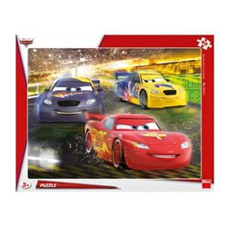 Obálka titulu Puzzle Cars: Velké vítězství 40 dílků