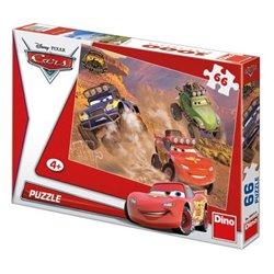 Obálka titulu Puzzle Cars Závodníci 66 dílků