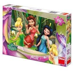 Obálka titulu Puzzle Fairies: Zvonilka 66 dílků